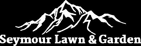 Seymour Lawn Garden Logo White 1